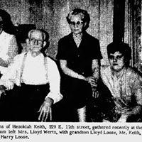 Hezekiah Keith Family Reunion