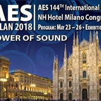 AES Milan 2018  144th AES Convention