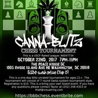 CAPS League Presents Canna-Blitz Chess Tournament (UNRATED)