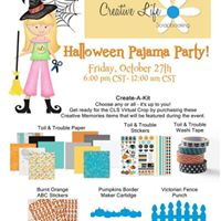 Creative Life Scrapbooking Pajama Party (Virtual Crop)