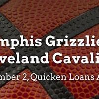 Memphis Grizzlies vs. Cleveland Cavaliers