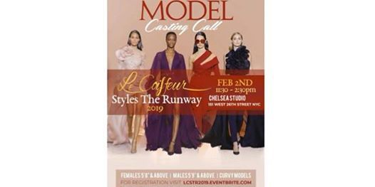 Model Casting Call - Le Coiffeur Style the Runway 2019 (LCSTR)