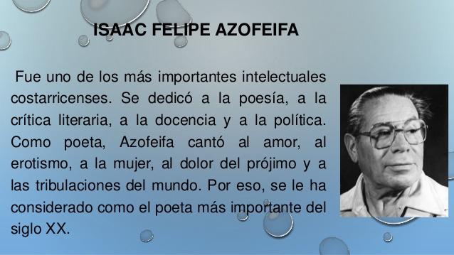 Aniversario del nacimiento de Isaac Felipe Azofeifa at La casa del ...