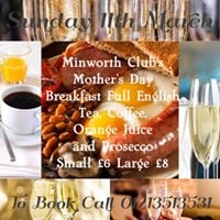 Mothers Day Prosecco Breakfast