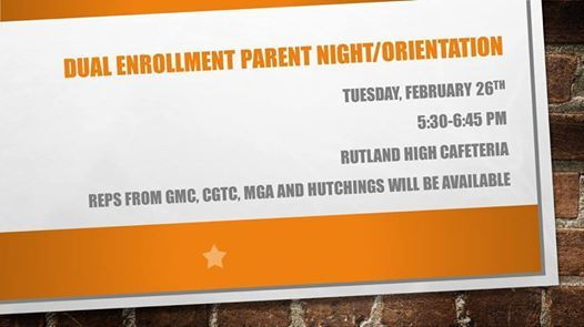 Dual Enrollment Parent Night