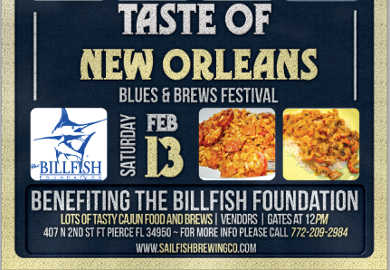 TASTE OF NEW ORLEANS BLUES & BREWS 2 DAY FESTIVAL FEB 7-8 FREE ENTRY