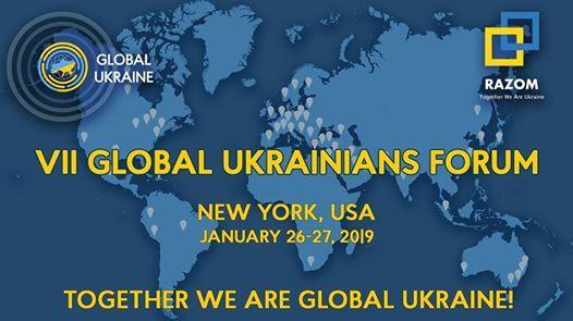 VII Global Ukrainians Forum