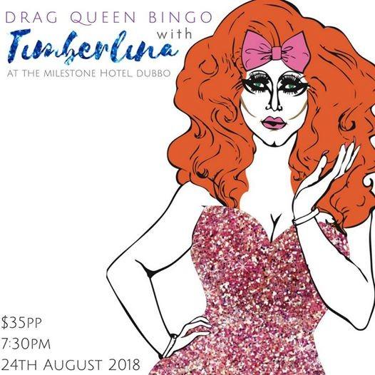 Drag Queen Bingo with Timberlina - Dubbo