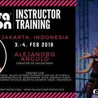 Salsation Instructor Training with Alejandro Angulo Jakarta