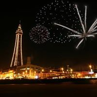 Late Night Riding &amp Fire Works at Blackpool Pleasure Beach