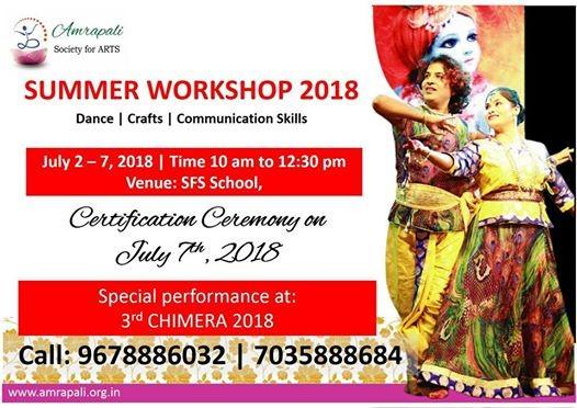 Amrapali Summer Workshop 2018