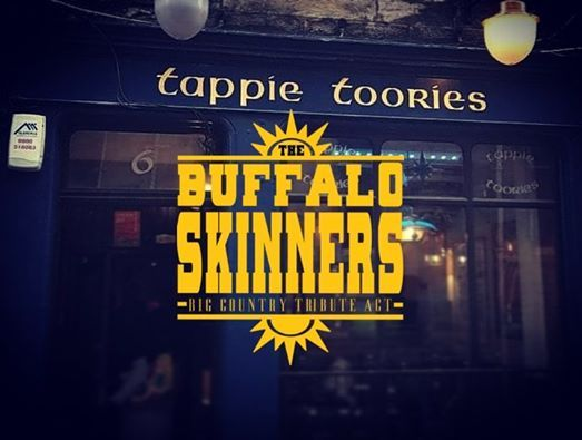 The Buffalo Skinners At Tappie Toories Dunfermline Scotland