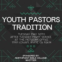 Youth Pastors Traditon Night at Network Conference