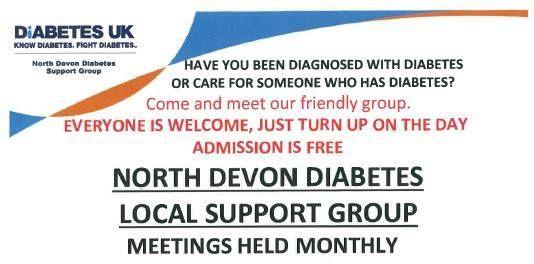 North Devon Diabetes Support Group