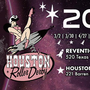 Houston Roller Derby April 27th Double Header