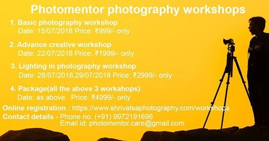 Advance creative photography workshop