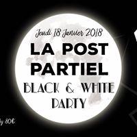 LA POST PARTIEL  BLACK &amp WHITE PARTY