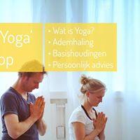 Begin met Yoga workshop