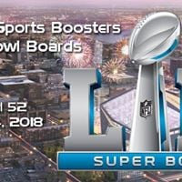 Sports Boosters Super Bowl Boards