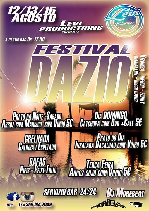 1Edicao Festival Dazio