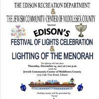 Festival of Lights &amp Lighting of the Menorah