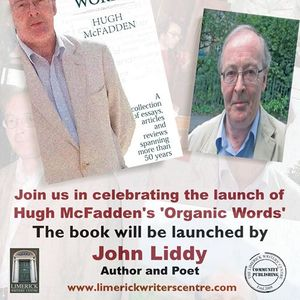 Organic Words - Book Launch Limerick and Dublin