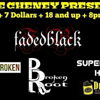 Faded Black Supermans Hero Eighth Day Broken Broken Root At The Drinkery