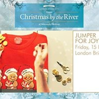 Free Jumper for Joy Workshop - Christmas by the River