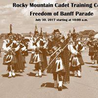 Freedom of Banff Parade