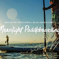 Moonlight Stand Up Paddleboarding