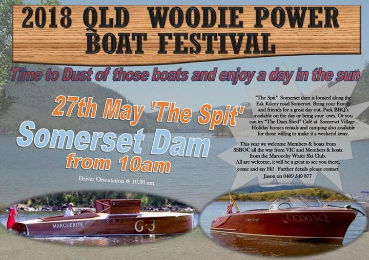 2018 QLD Woodie Powerboat Festival