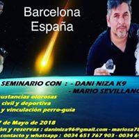 Seminario Con Dani Niza K9 Y Mario Sevillano