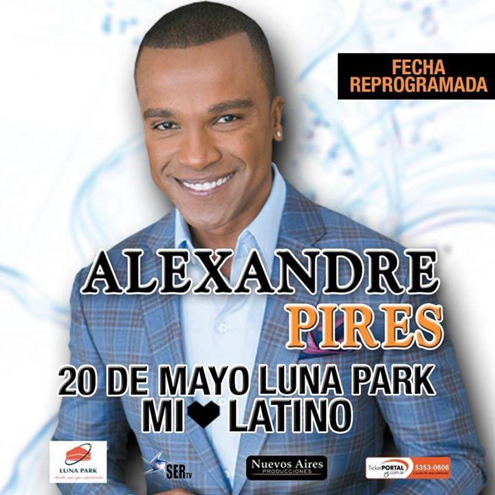 Alexandre Pires en Buenos Aires