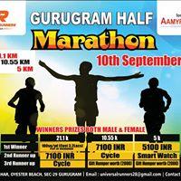 Gurugram Half Marathon 2017