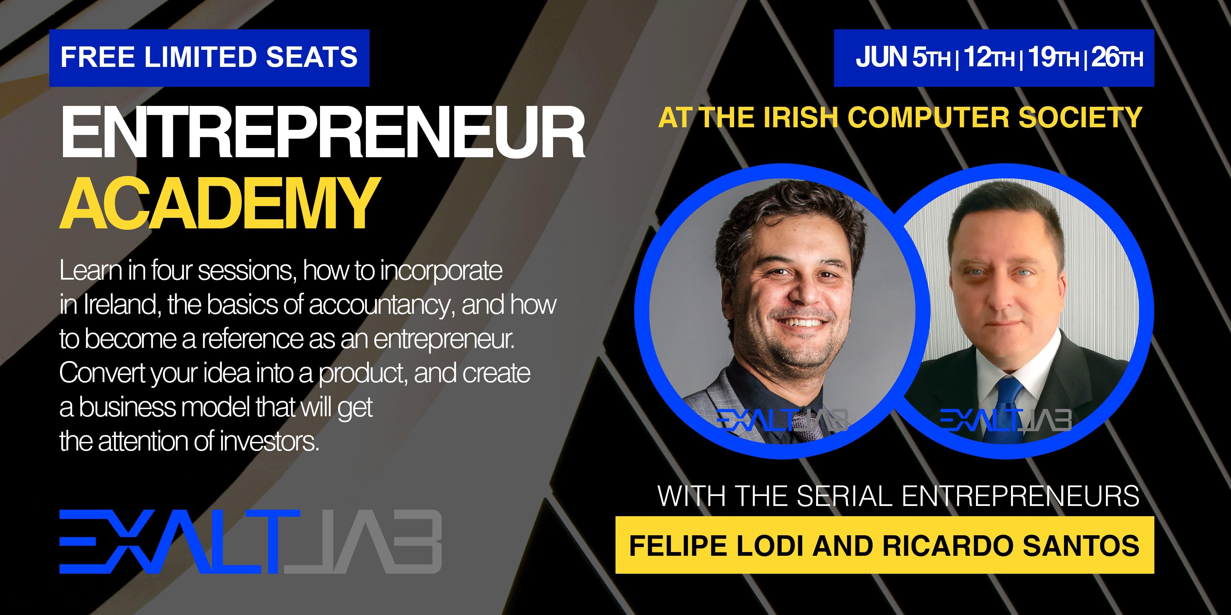 Entrepreneur Academy with ExaltLab