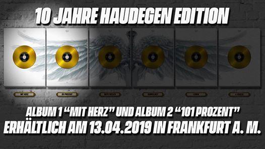 10 Jahre Haudegen Record Release Tour 1