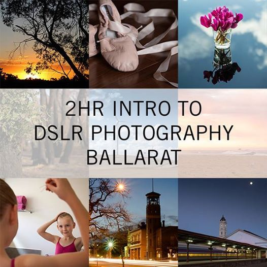 2hr Intro to DSLR Photography