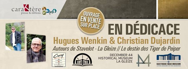 Bastogne war museum d dicace hugues wenkin christian for Dujardin hugues