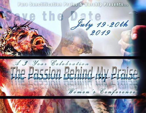The Passion Behind My Praise Womens Conference