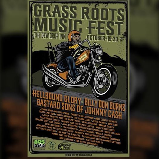 Grass Roots Music Festival 2018 at Dew Drop Inn - HWY 49, California