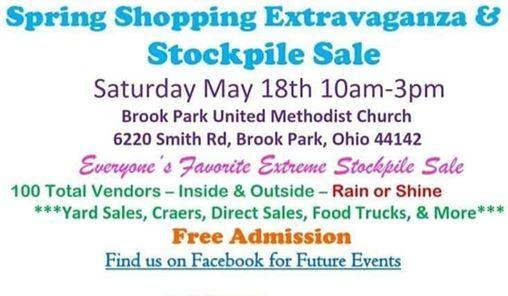 Spring Shopping Extravaganza & Stockpile Sale