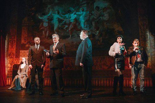 Spektakl Miarka za miark w Teatrze Polskim w Bielsku-Biaej