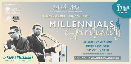 Just Ask! AYN - Millennials & Spirituality at Masjid Yusof