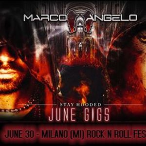 "Marco Angelo &quotStay Hooded Tour"" RocknRoll Milano"