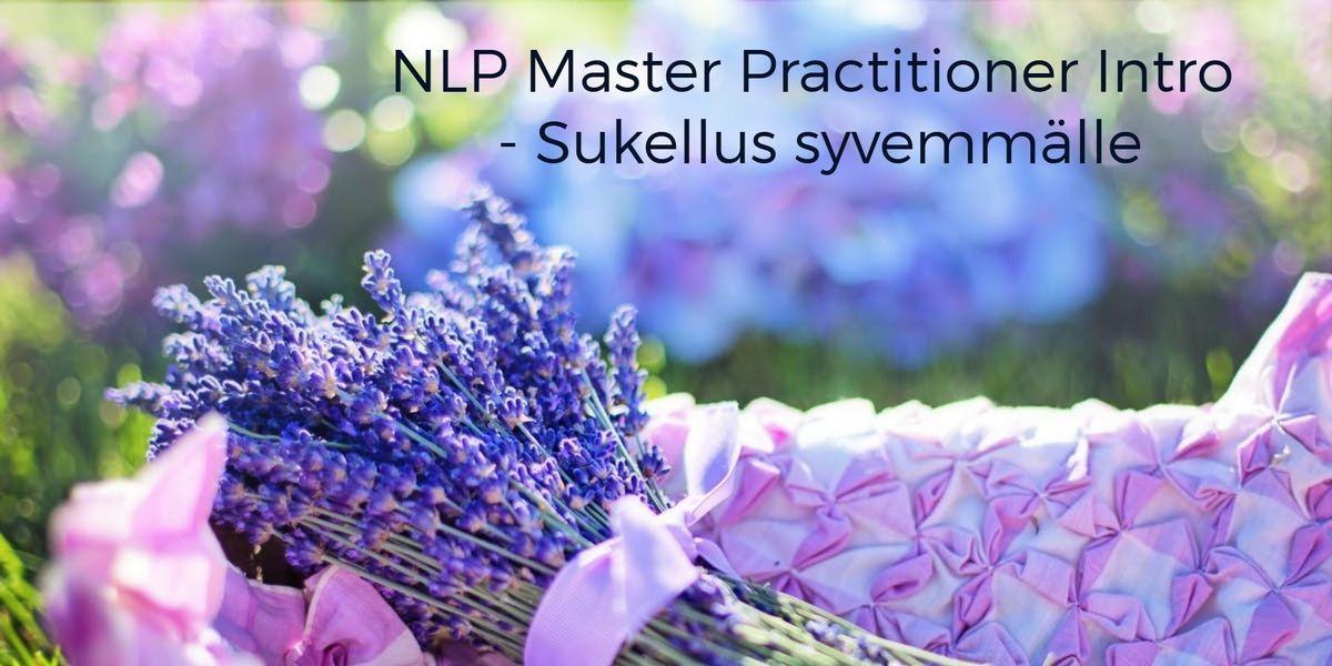 NLP Master Practitioner intro - Sukellus syvemmlle 13.9.2018