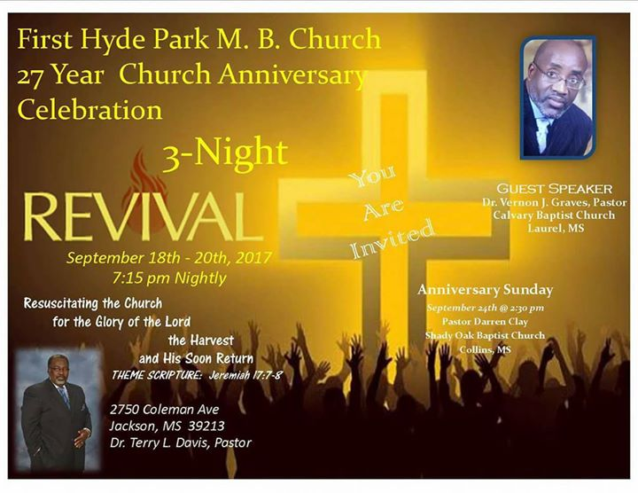 27th church anniversary  3