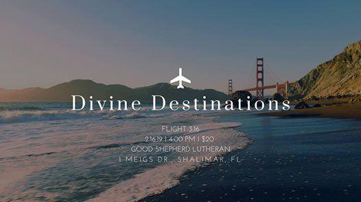 Divine Destinations - Womens Day