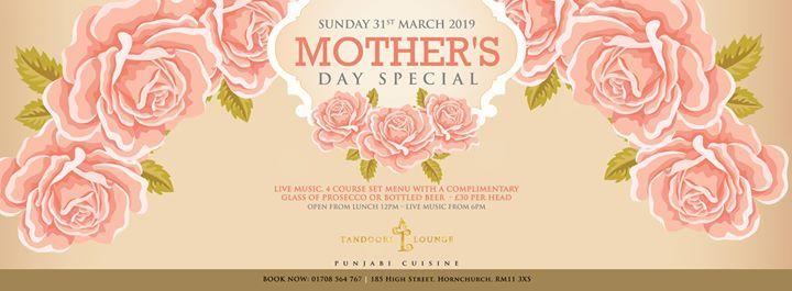 Mothers Day at Tandoori Lounge