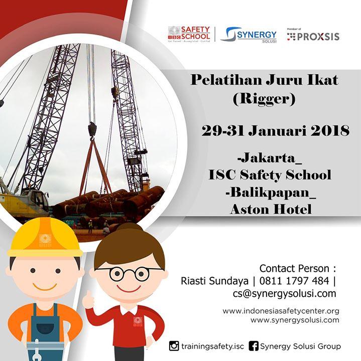 Training Juru Ikat (Rigger) Tanggal 29-31 Januari 2018
