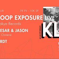 1RDT - KLUB 2 w Loop Exposure LIVE  Cesar &amp Jason